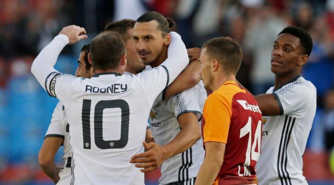 Manchester United Bungkam Galatasaray di laga Uji Coba