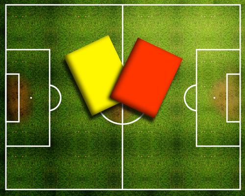 Peraturan baru Tentang kartu kuning dan Merah