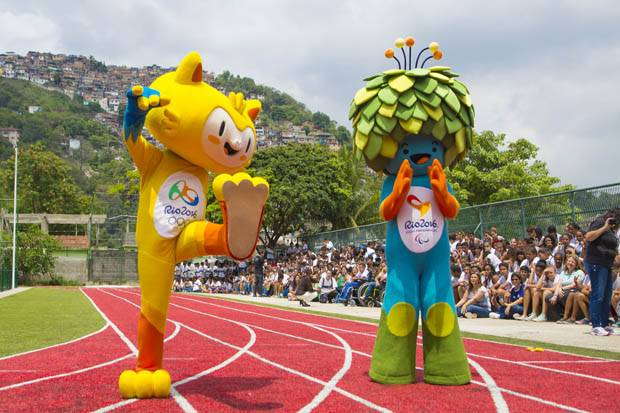Vinicius Maskot Olimpiade Rio De janeiro 2016