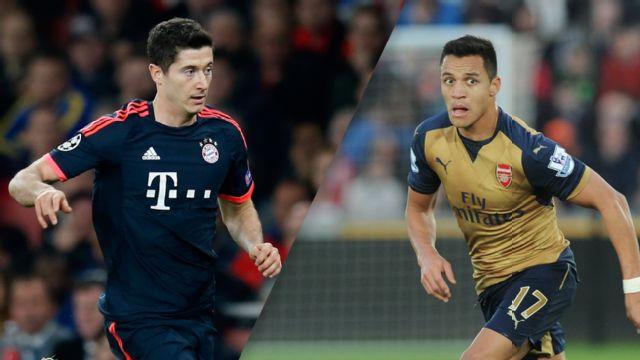 Prediksi Skor Bayern Munchen vs Arsenal